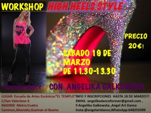 WORKSHOP High Heels Style