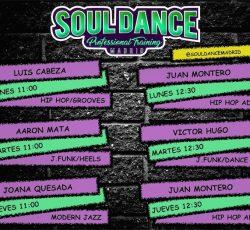 «Soul Dance Professional Training» por las mañanas