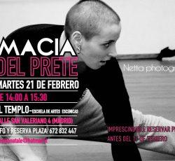 Masterclass de Macia del Prete, 21 de febrero