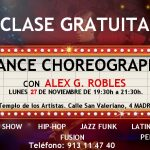 Clase Gratuita de Choreography Dance