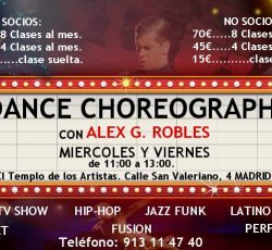 Dance Choreography by Alex G. Robles