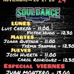 Soul Dance Professional Training:  20, 21, 23 y 24 de Noviembre