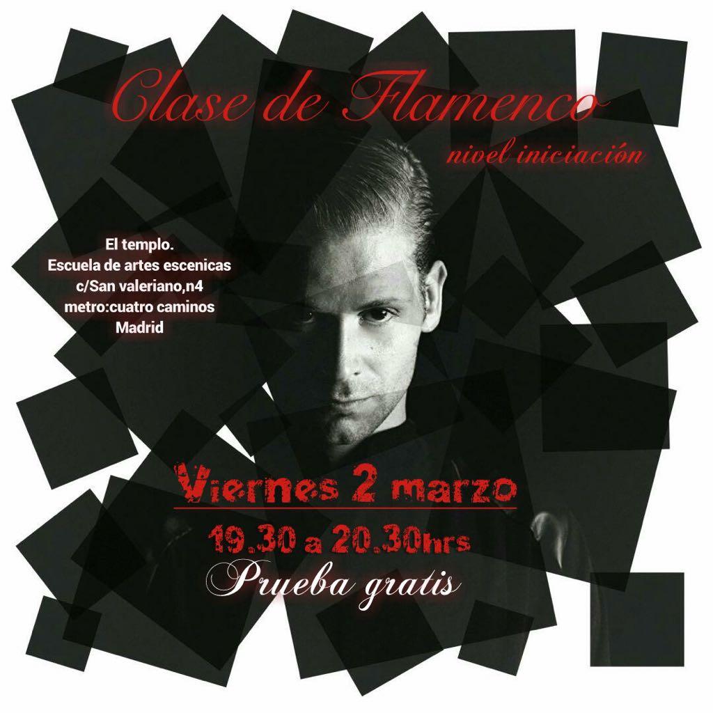 clase gratis, flamenco,