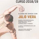 danza contemporanea, moderna jazz lirico, jazz musical, flexibilidad y fuerza, julio viera,