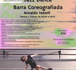 Jazz Dance y Barra Coreográfica, con Arnaldo Lasorli