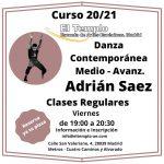 Danza Contemporánea con Adrian Saez