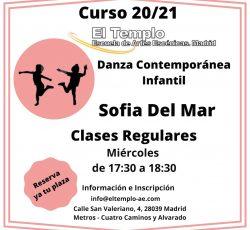 Danza Contemporánea Infantil con Sofía del Mar